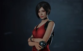 Preview wallpaper Short hair girl, Resident Evil 2