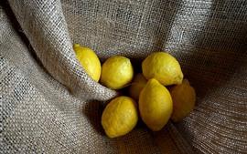 Some lemons, fruit