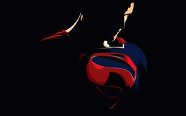 Preview wallpaper Superman, superhero, vector picture