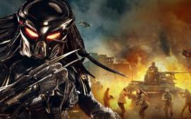 O predador, tanque, guerra