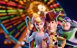 Preview wallpaper Toy Story 4, 3D cartoon movie