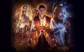 Preview wallpaper Aladdin, 2019 movie