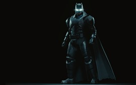 Preview wallpaper Batman, superhero, mask, black background