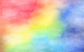Preview wallpaper Colorful colors, watercolors, abstract picture