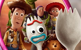 Preview wallpaper Disney movie, Toy Story 4