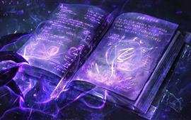 Magic book, creative