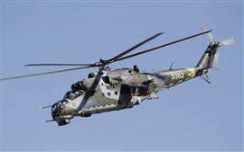 Preview wallpaper Mi-35 helicopter