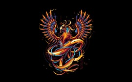 Phoenix, imagens de arte, design criativo