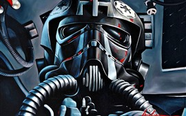 Preview wallpaper Star Wars, art picture, pilot