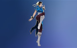 Preview wallpaper Street Fighter, Chun-Li, classic game