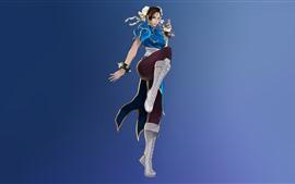 Aperçu fond d'écran Street Fighter, Chun-Li, jeu classique