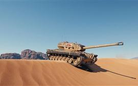 Tank, desert