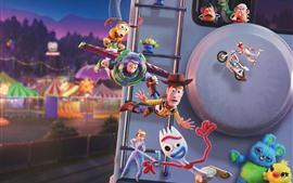预览壁纸 玩具总动员4,迪斯尼电影2019年