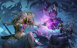 Preview wallpaper Hearthstone: Heroes of Warcraft