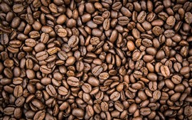 Preview wallpaper Lot of coffee beans