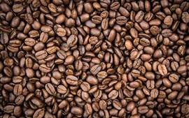 미리보기 배경 화면 커피 콩을 많이