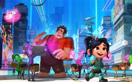 Preview wallpaper Ralph Breaks the Internet, Disney cartoon movie