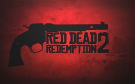 Preview wallpaper Red Dead Redemption 2, revolver