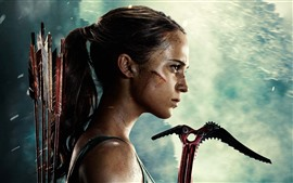 Preview wallpaper Tomb Raider, Lara Croft, movie