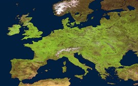 Preview wallpaper Map of Europe