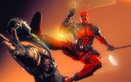 Preview wallpaper Mortal Kombat, Deadpool