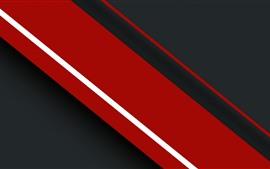 Listras vermelhas e pretas, imagem abstrata