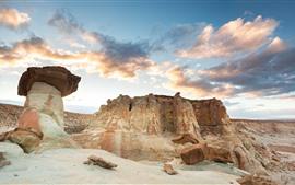 Rocks, stones, desert, nature