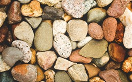 Preview wallpaper Some stones, different