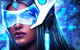 Preview wallpaper Symmetra, Overwatch