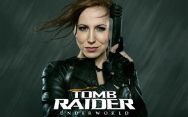 Aperçu fond d'écran Cosplay fille, Lara, Tomb Raider: Underworld