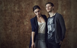 Preview wallpaper Joseph Morgan, Phoebe Tonkin
