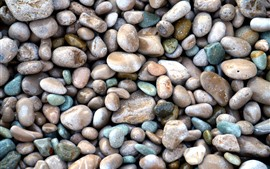 Preview wallpaper Many pebbles, stones, background