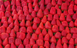 Preview wallpaper Many strawberries, background