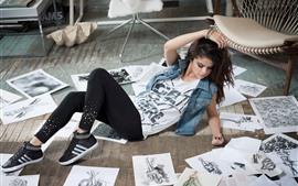 Vorschau des Hintergrundbilder Selena Gomez 24