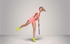 Preview wallpaper Tennis, Eugenie Bouchard, blonde girl