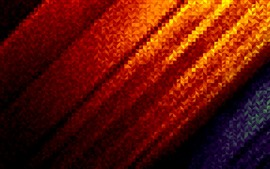 Preview wallpaper Abstract ripples, orange and blue