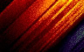 Aperçu fond d'écran Ondulations abstraites, orange et bleu