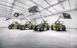 Preview wallpaper Claas Scorpion loaders