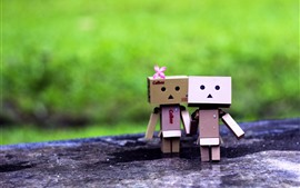 Preview wallpaper Danboard, girl and boy