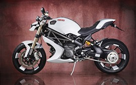 Preview wallpaper Ducati Monster 1100 EVO motorcycle