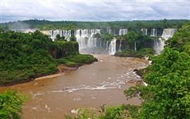 Preview wallpaper Iguazu Waterfalls, Brazil