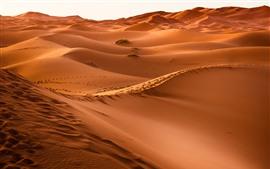 미리보기 배경 화면 모로코, 사막, 모래 언덕