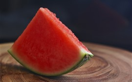 Preview wallpaper One slice of watermelon
