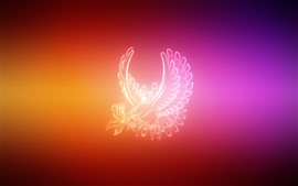 Preview wallpaper Pokemon, wings, creative picture