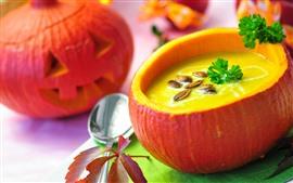 Preview wallpaper Pumpkin soup