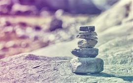 미리보기 배경 화면 일부 돌, 흐릿한 배경
