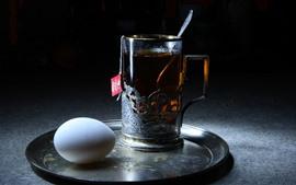 Chá e ovo