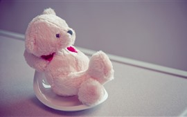 Preview wallpaper Teddy bear, pose, funny