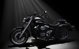 Preview wallpaper Yamaha XVS950A Midnight Star motorcycle