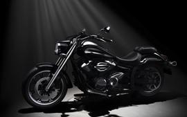 Aperçu fond d'écran Moto Yamaha XVS950A Midnight Star